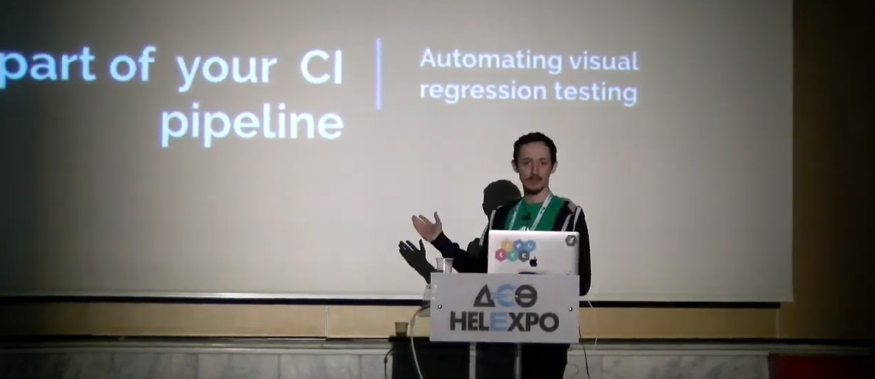 Automated Visual Testing; The Missing Part of your CI Pipeline?